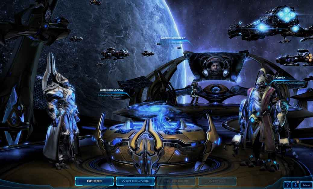 Выбор оружия в Starcraft 2: legacy of the void