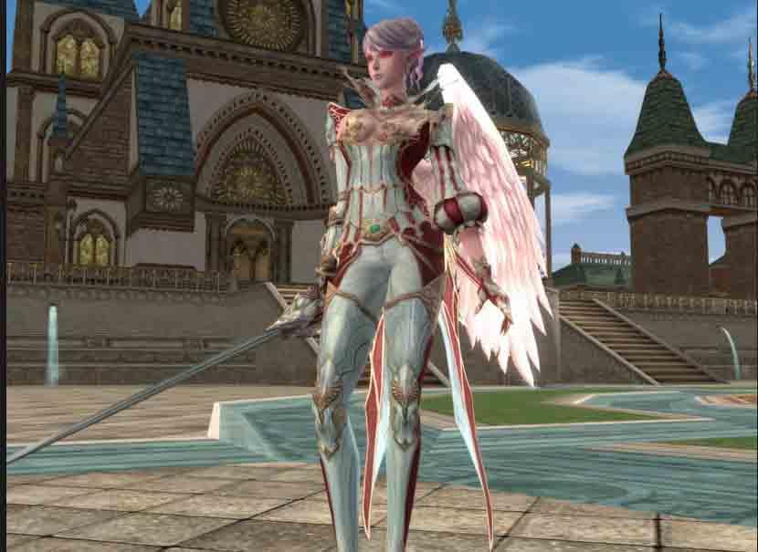 Поначалу довелось создавать личного персонажа в игре lineage 2 - Линейка 2.
