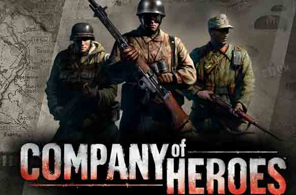Лого Company of heroes, opposing fronts