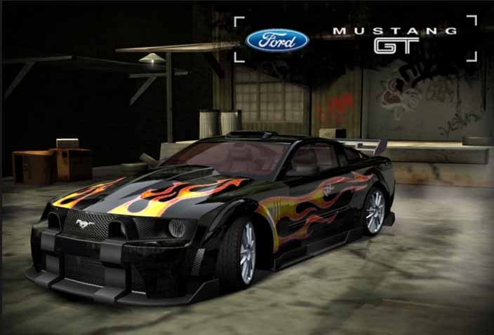 Выбор авто в Need for Speed, Most Wanted