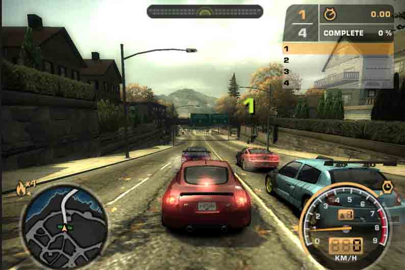 Секреты игры Need for Speed, Most Wanted