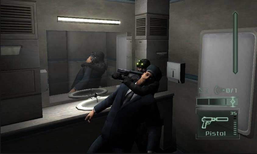 Секреты игры Splinter Cell, Pandora Tomorrow