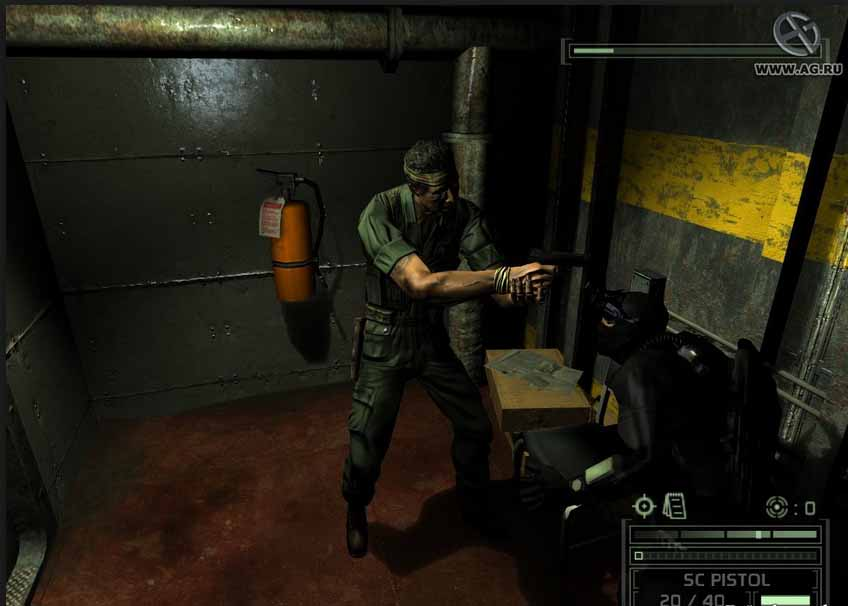 Кряк игры Splinter Cell, Chaos Theory