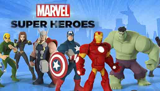 Сайт игры Disney infinity, 2.0, marvel super heroes