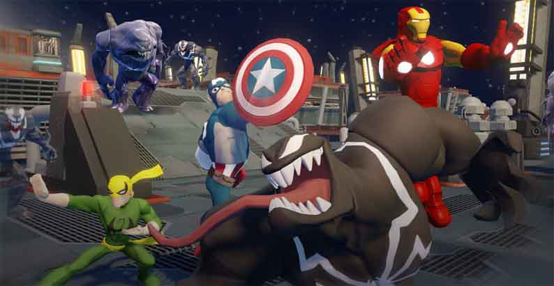 Играть бесплатно в Disney infinity, 2.0, marvel super heroes